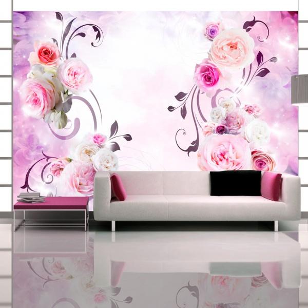 Fototapeta - Różane wariacje (300x210 cm) A0-XXLNEW010657