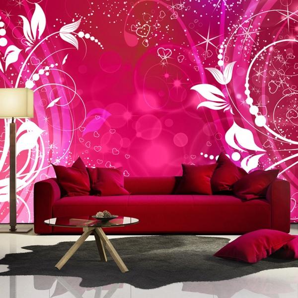 Fototapeta - Różowe oblicze magii (300x210 cm) A0-XXLNEW010419