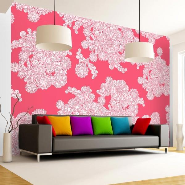 Fototapeta - Różowe obłoki (300x210 cm) A0-XXLNEW010341
