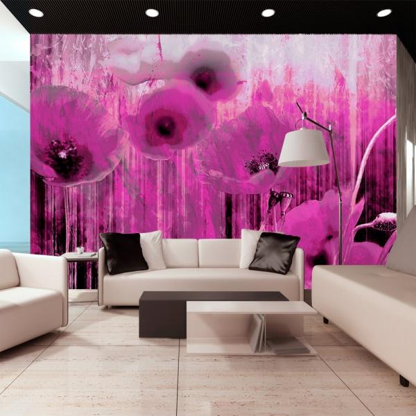 Fototapeta - Różowe szaleństwo (300x210 cm) A0-XXLNEW010334