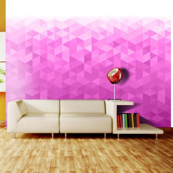 Fototapeta - Różowy piksel (300x210 cm) A0-XXLNEW010368