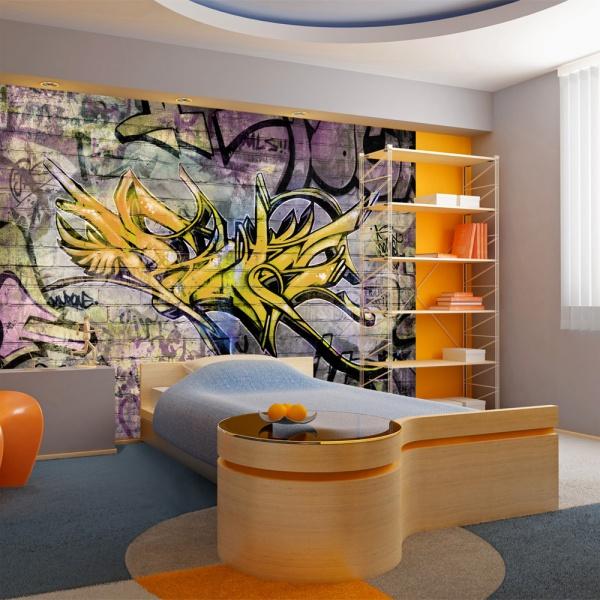 Fototapeta - Stunning graffiti (300x210 cm) A0-XXLNEW010112