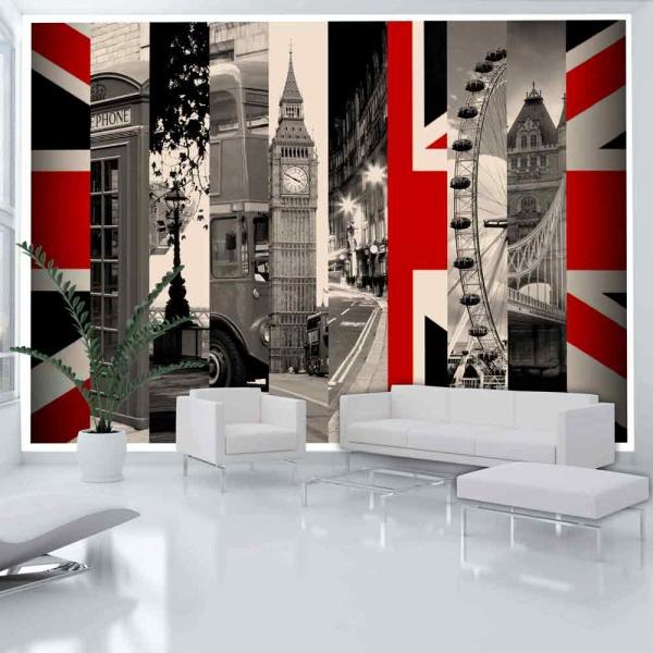 Fototapeta - Symbole Londynu (300x210 cm) A0-XXLNEW010232