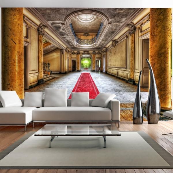 Fototapeta - Tajemnica marmuru (300x210 cm) A0-XXLNEW010383