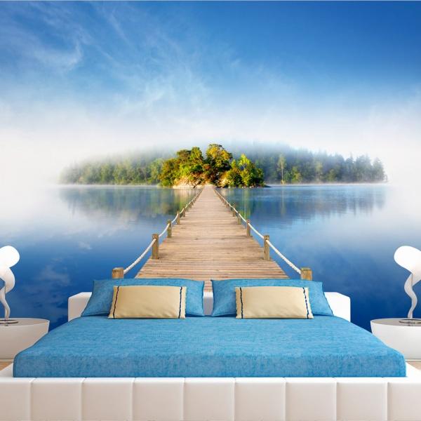 Fototapeta - Tajemnicza wyspa (300x210 cm) A0-XXLNEW010448