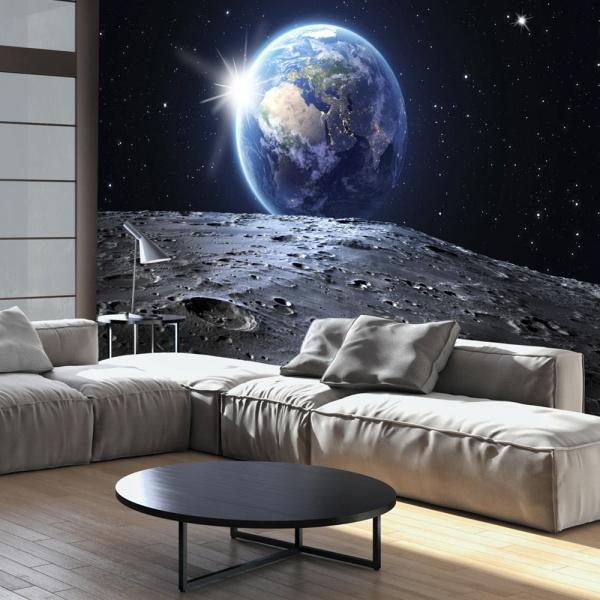 Fototapeta - Widok na Niebieską Planetę (300x210 cm) A0-XXLNEW011247