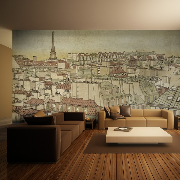 Fototapeta - Żegnaj Paryżu (550x270 cm) A0-F5TNT0038-P