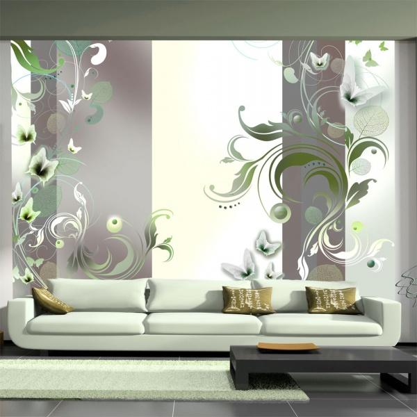 Fototapeta - Zielona pasja (300x210 cm) A0-XXLNEW010116
