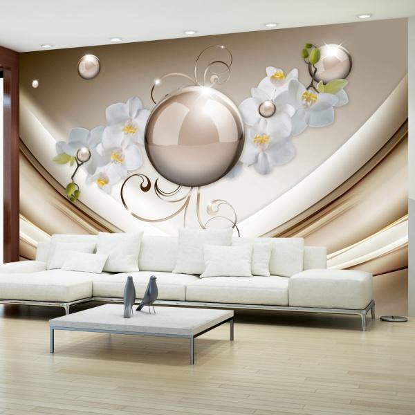 Fototapeta - Złota abstrakcja (300x210 cm) A0-XXLNEW011520