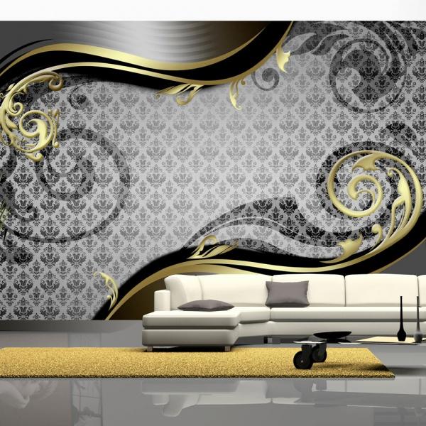 Fototapeta - Złoty ślimak (300x210 cm) A0-XXLNEW010825