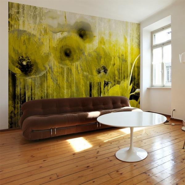 Fototapeta - Żółte szaleństwo (300x210 cm) A0-XXLNEW010336