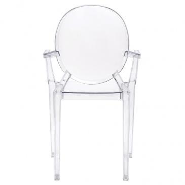 front krzesło louis ghost