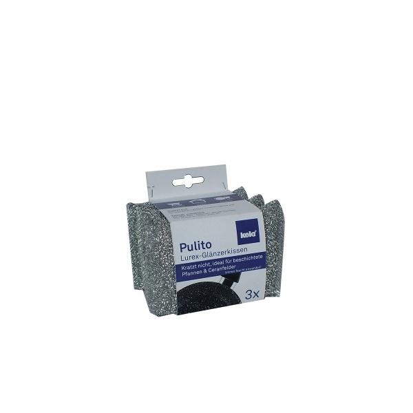 Gąbki do mycia naczyń 12,5x8x2,5 cm Kela szare KE-11647