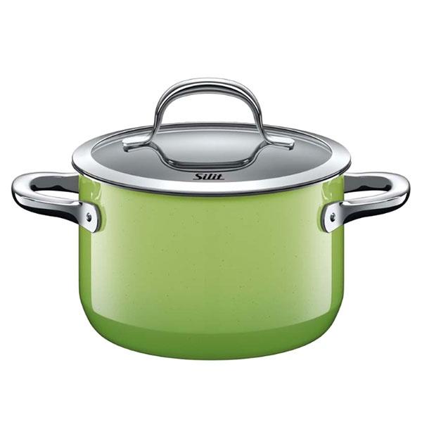 Garnek duży 3,7L Silit Passion Green zielony 21.0229.9196