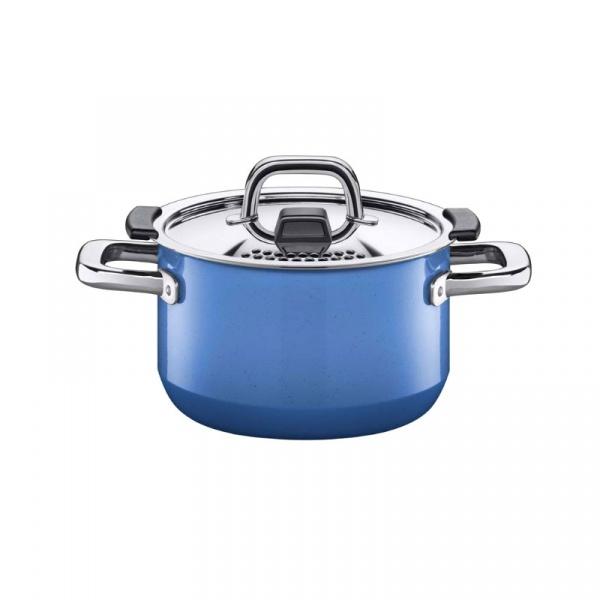 Garnek średni 2l Silit Nature Blue 16cm 21.0229.9479