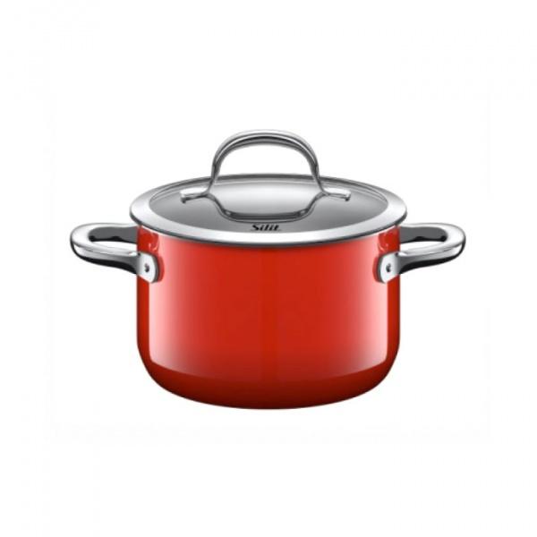 Garnek średni 2L Silit Passion Red czerwony 21.0229.7055