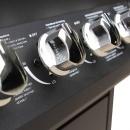 Grill gazowy ze strefą gotowania 6+1, kolor czarny