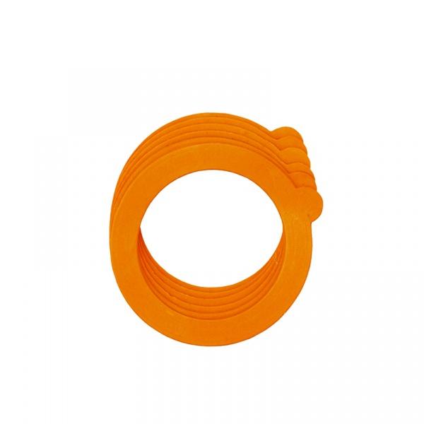 Gumki do słoików z klamrą 6 szt. Tala pomarańczowe 10A00129