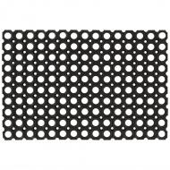 Gumowe maty, wycieraczki, 5 szt., 16 mm, 40 x 60 cm