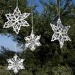 Gwiazdka świąteczna szydełko H-GWG-1101