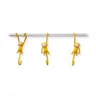 Haczyki Just Hanging 3 szt. Monkey Business żółte