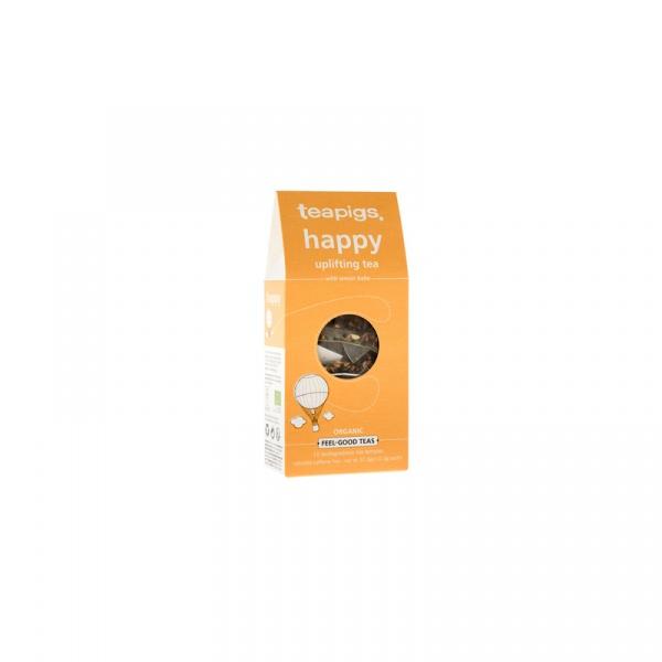 Herbata ziołowa Happy 15 piramidek teapigs 37