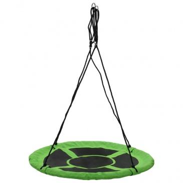 Huśtawka 110 cm, 150 kg, zielona