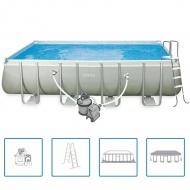 Intex prostokątny basen ogrodowy 549 x 274 x 132 cm 28352GN