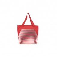 IRIS BEACH torba termiczna na plażę czerwona