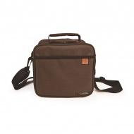 IRIS CLASSIC zestaw torba termiczna i pojemniki brązowa
