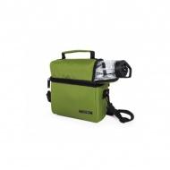 IRIS OPTIMAL Lunchbag torba termiczna z bidonem i pojemnikami na żywność, zielona