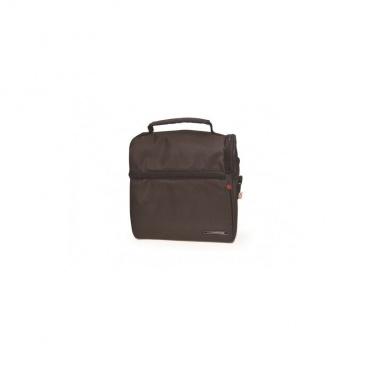 c2b24a345b9ab IRIS OPTIMAL Lunchbag torba termiczna z pojemnikami na żywność, szara