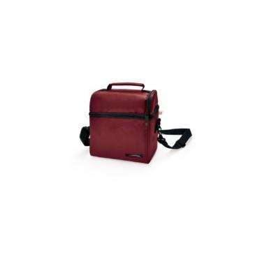 6d3c0d09b6d08 IRIS OPTIMAL Lunchbag torba termiczna z pojemnikami na żywność, bordowa