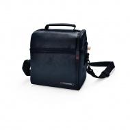 IRIS OPTIMAL Lunchbag torba termiczna z pojemnikami na żywność, czarna