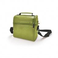 IRIS OPTIMAL Lunchbag torba termiczna z pojemnikami na żywność, zielona