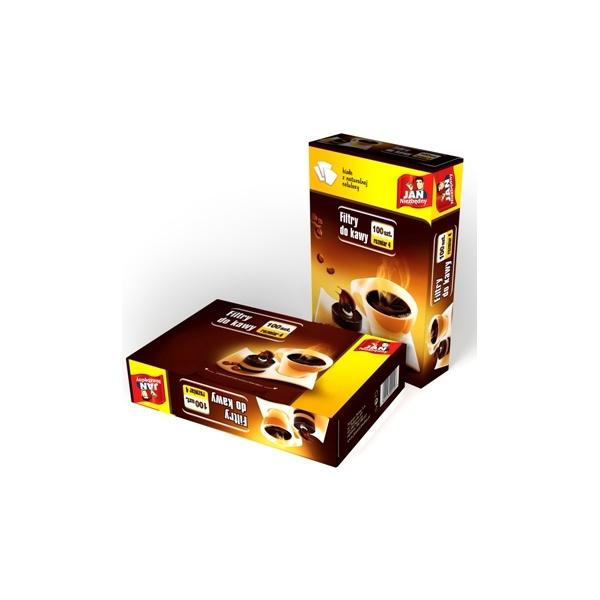 Jan Niezbędny filtry do kawy rozm. 4, op 100 szt. MAX-3945