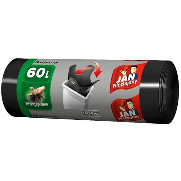 Jan Niezbędny worki HD Easy Pack 60L/ 26szt. MAX-5642