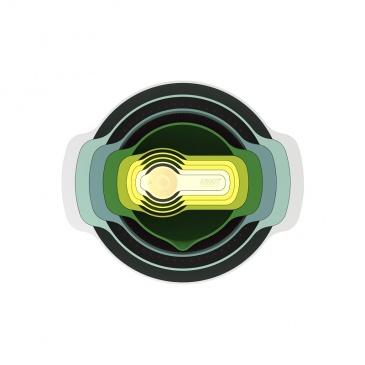 JJ - Zestaw misek i miarek Nest 9 Opal