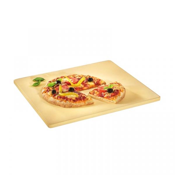 Kamień do pizzy z podstawką Kuchenprofi kwadratowy KU-1086150040