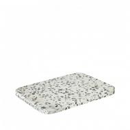 Kamienna deska do serwowania 15x20cm Blomus OMEO biało-szara