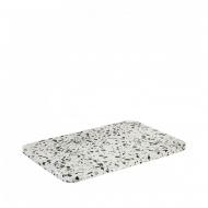 Kamienna deska do serwowania 20x30cm Blomus OMEO biało-czarna