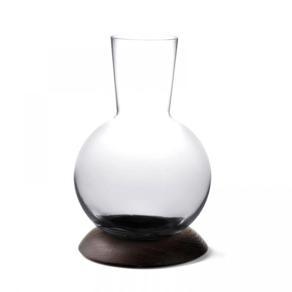 Karafka do wina na drewnianej podstawce Legnoart Elixir - bez opakowania SD-3(1)