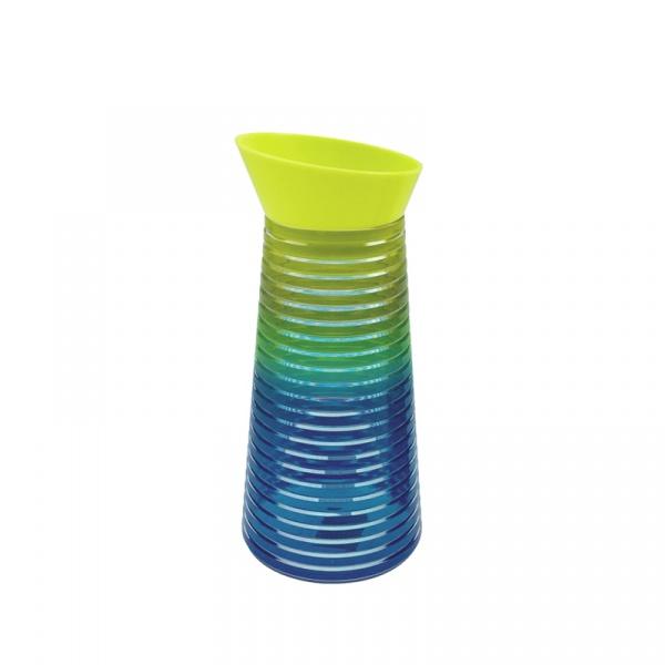 Karafka na napoje 1 l Zak! Designs Rainbow zielono-niebieska 6685-N461