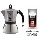 kawiarka moka induction anthracite bialetti + kawa gratis