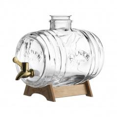 KIL-Dystrybutor-beczułka na alkohol, 3,5 l,mosiądz