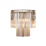 Kinkiet Illumination 39cm Miloo Home Alumbrado przeźroczysty