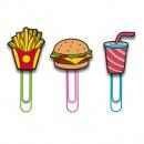 Klamerki do zdjęć ClipIt Mustard fast food