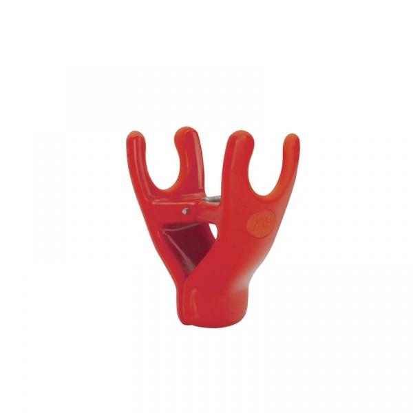 Klips do wspierania łyżki MSC International czerwony MS-29580-CZE