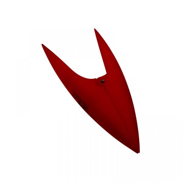 Klipsy do torebek 6 szt. Legnoart Aliquam czerwony - bez opakowania MC-1R(1)