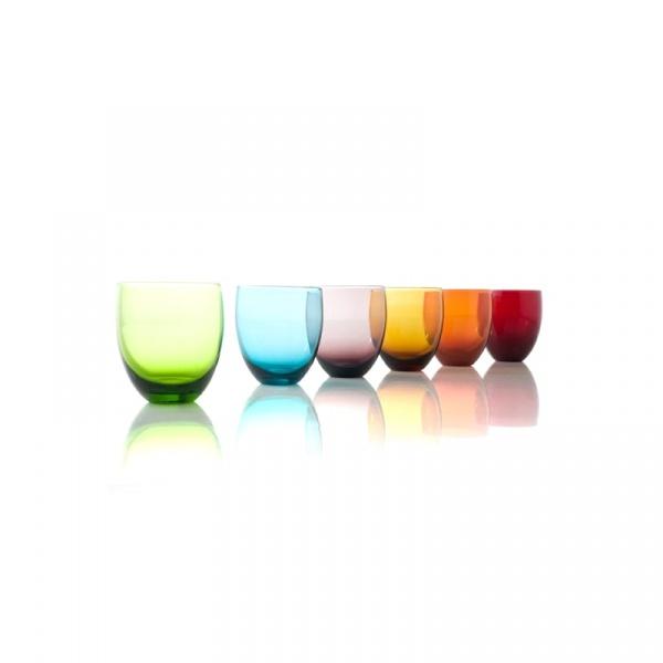 Kolorowe szklanki Brandani TUMBLER SET 6 szt. 57849